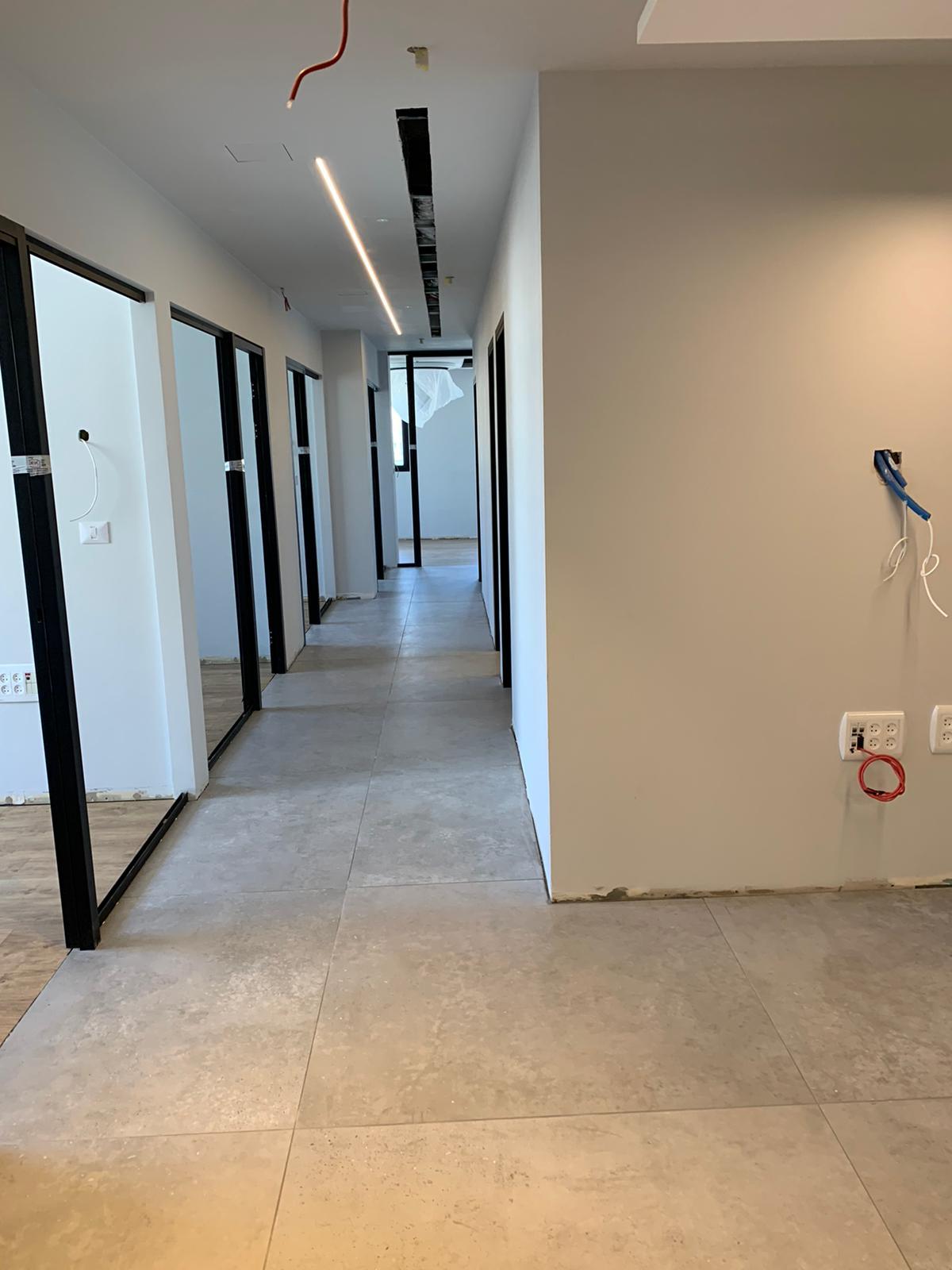ניקיון משרדים לאחר שיפוץ